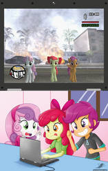 .:Favorite Game:. (with C.M.C.) by The-Butcher-X