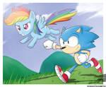 .:Beginning of Sonic Rainboom:.