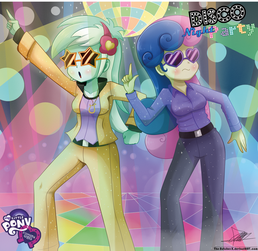 .:DISCO Night Party:. by The-Butcher-X