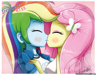 .:Innocent Kiss:. by The-Butcher-X