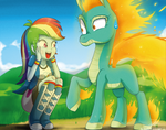 .:Human Pony n' Longma:.