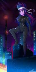 .:CyberCity:. (Commission) by The-Butcher-X