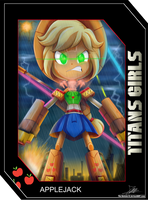.:TITANS GIRLS Card 3:. by The-Butcher-X