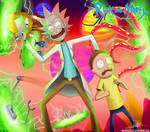 .:Rick and Morty's Fucking Universe:. (Commission)