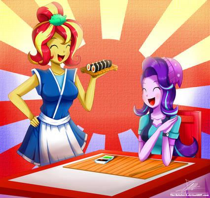 .:Sushi Please:. (Commission)
