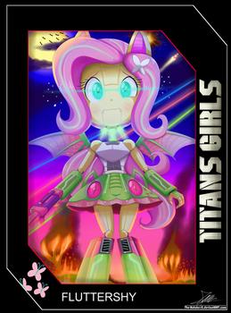 .:TITANS GIRLS Card 4:.