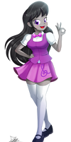 .:Octavia Melody - EQG Style:. (Commission)