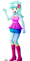 .:Lyra Heartstrings - EqG Style:. (Commission)