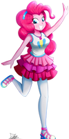.:Pinkie Pie - EqG Style:. (Commission)