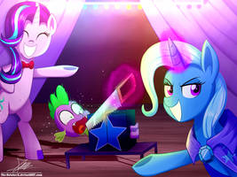 .:MAGIC ACT:. (Commission) by The-Butcher-X