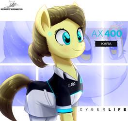 .:AX400 - Kara:. (Ponified) by The-Butcher-X