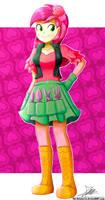.:Rose Girl:. (Commission)