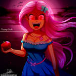 .:Vamp Side:. (with Speedpaint) by The-Butcher-X