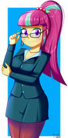 .:My Secretary:. (Commission) by The-Butcher-X