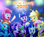 .:NEW YEAR! 2019:. (MLP:FiM)