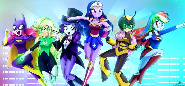 .:Equestria Hero Girls:. (Commission)