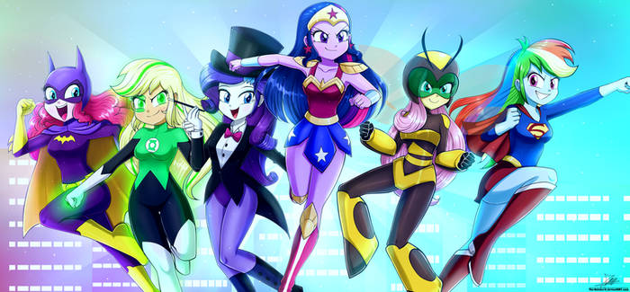 .:Equestria Hero Girls:. (Commission)