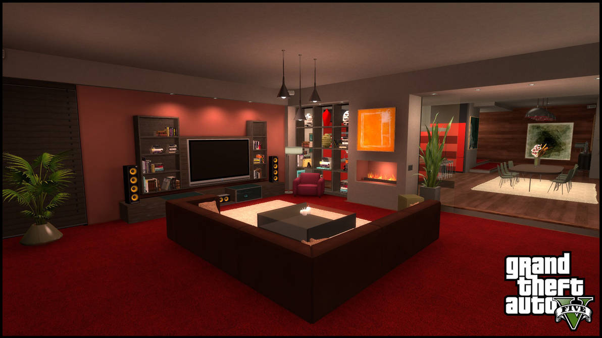 Gta V Online Apartment Gmod Sfm By Mark2580