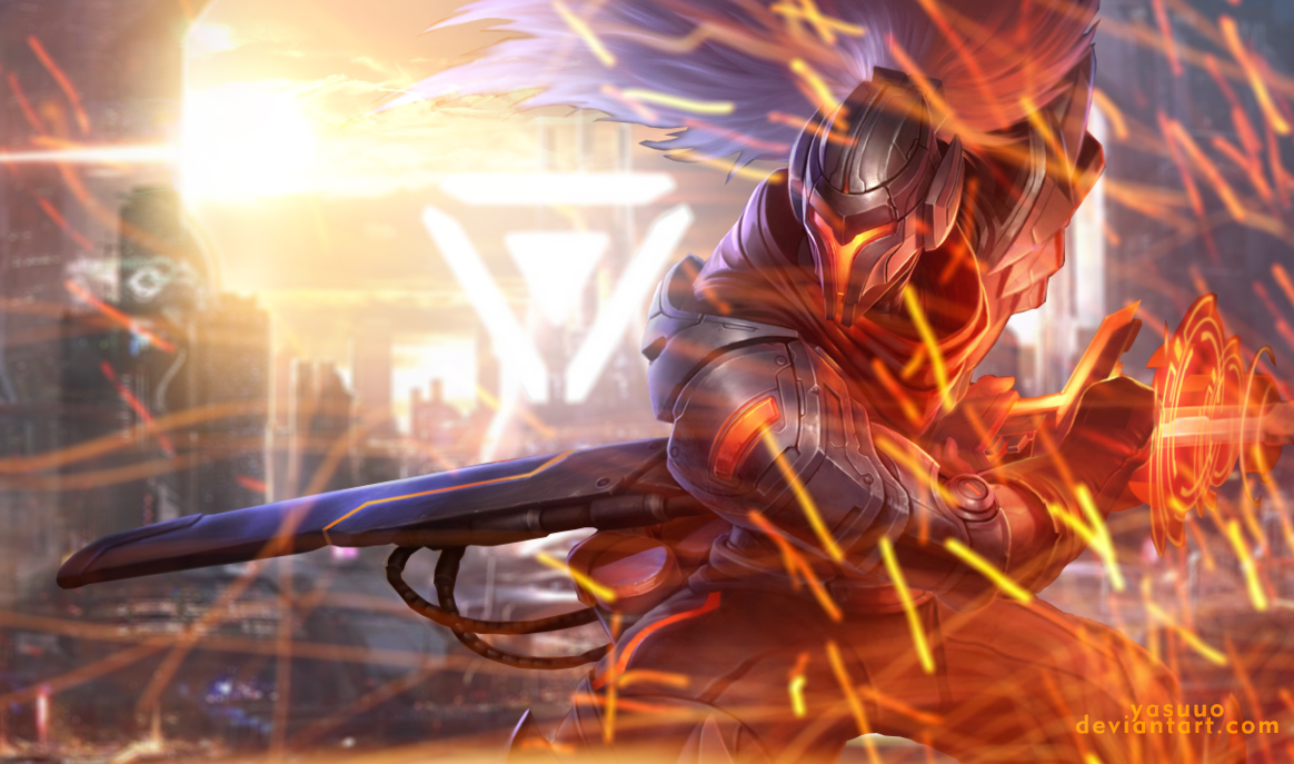 League Of Legends Yasuo Wallpaper: League Of Legends By Yasuuo