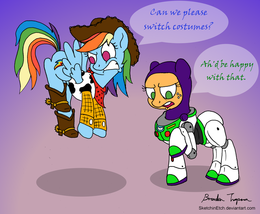 Strange Things are Happening to RD and AJ by SketchinEtch