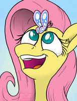 Flutterfly by SketchinEtch