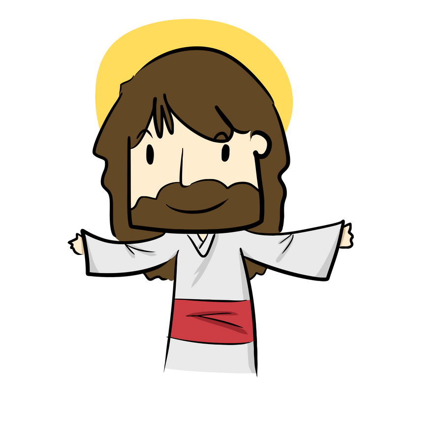 clipart cartoon jesus - photo #46