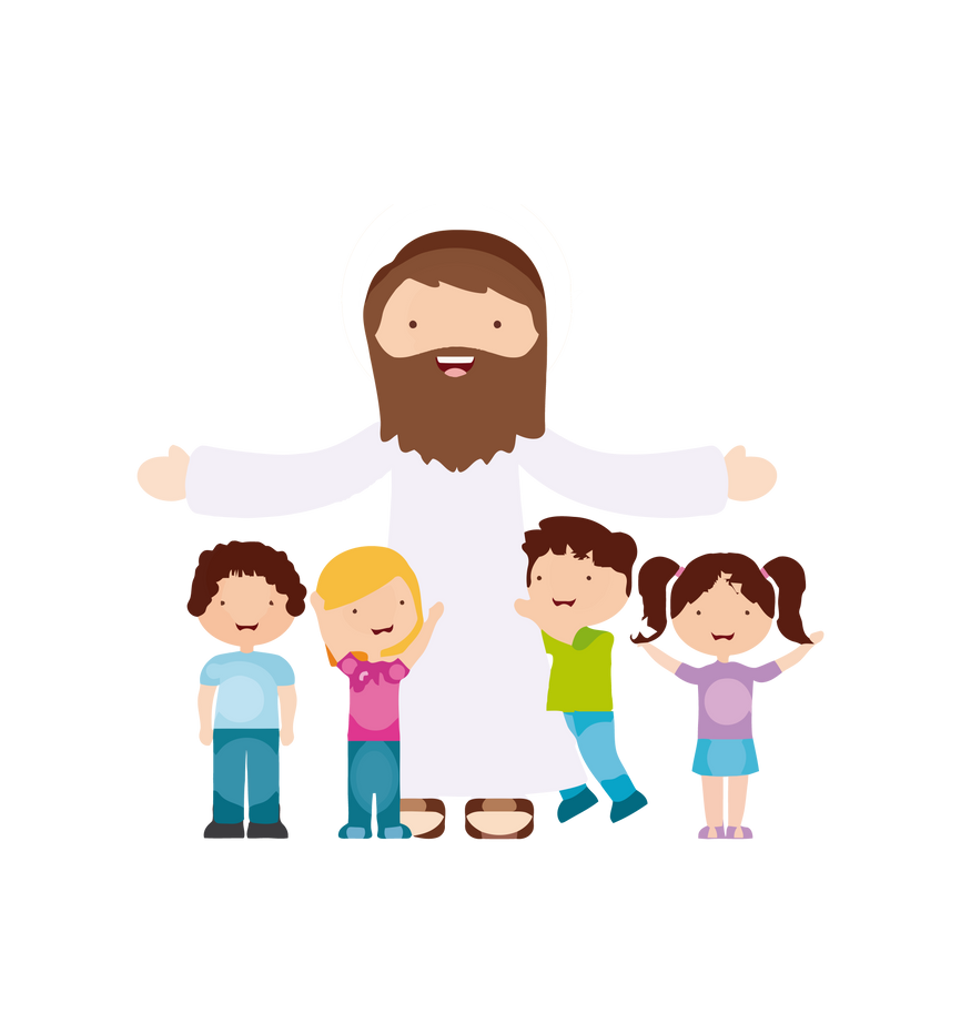 jesus vector 160 by minayoussefsaleb on deviantart christian clip art for kids to color Christian Clip Art Black and White