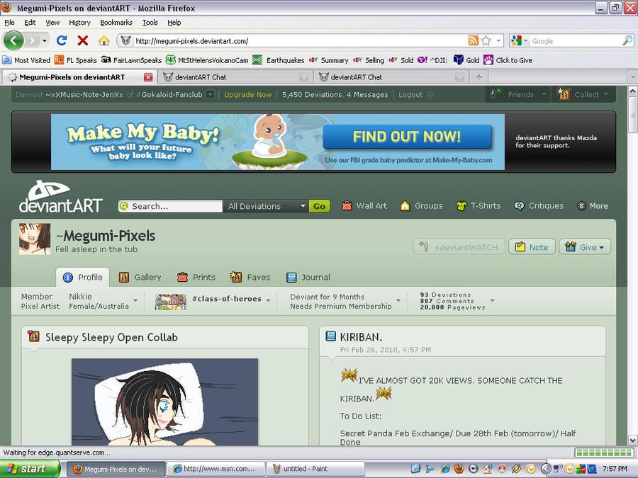 Megumi's Kiriban by xXMusic-Note-JenXx on DeviantArt