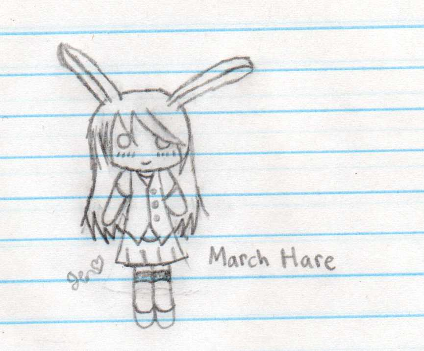 March Hare Chibi for Haru by xXMusic-Note-JenXx