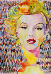 Marilyn Monroe by piaoying