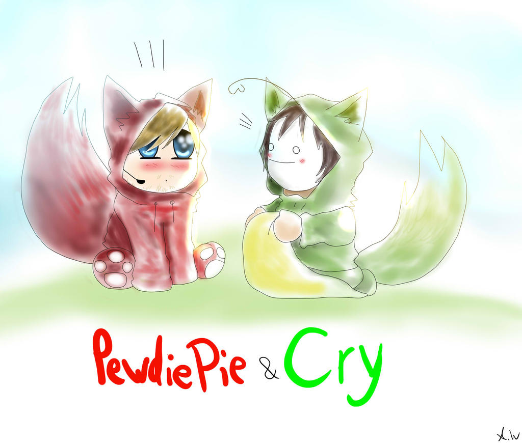 Trade - Pewdiepie and Cry by Humblehistorian on DeviantArt