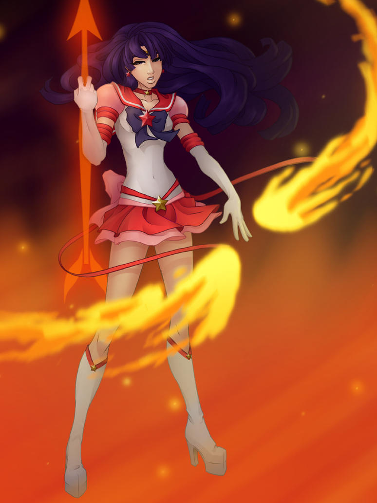Eternal Sailor Mars by The-Way-of-Hei
