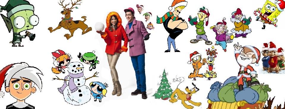 cartoon collage