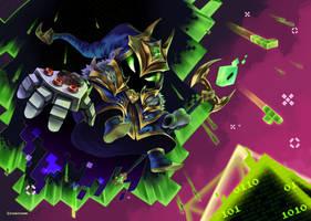 LoL-Veigar final boss by ImaginedFlight