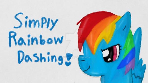Simply Rainbow Dashing! by sofiyo