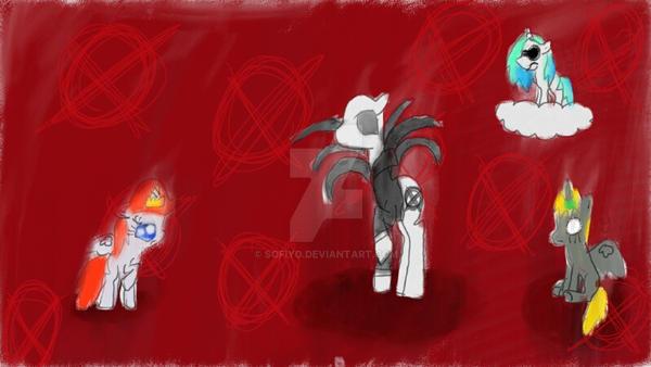 Slender Pony Awaken! by sofiyo