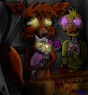 Foxy meet your baby sister