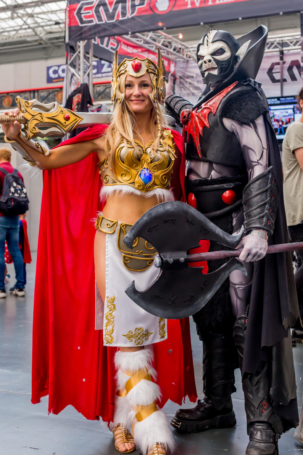 She Ra Princess Of Power And Hordak By Ashleyreeve On Deviantart