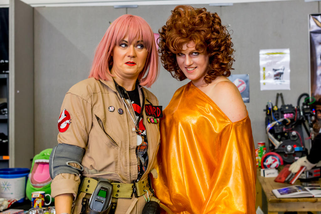 A Ghostbuster and Zuul / Dana Barrett by AshleyReeve ...  sc 1 st  DeviantArt : dana ghostbusters costume  - Germanpascual.Com