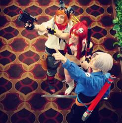Foxy Yoko Trunks by Alkaide1107
