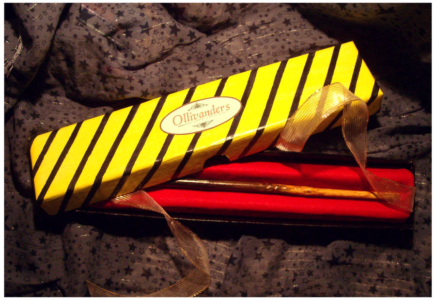Hufflepuff wand by Japanfanzz on DeviantArt