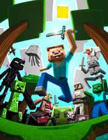 Minecraft by combobomb