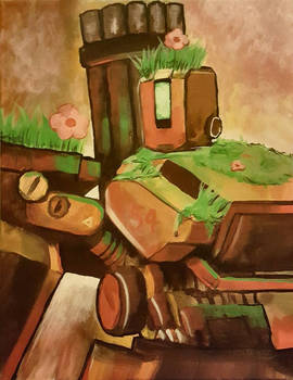 Canvas Painting - Bastion