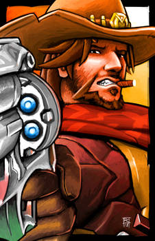 Overwatch Portrait - Mccree