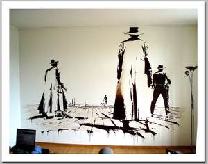 the good, the bad and the wall