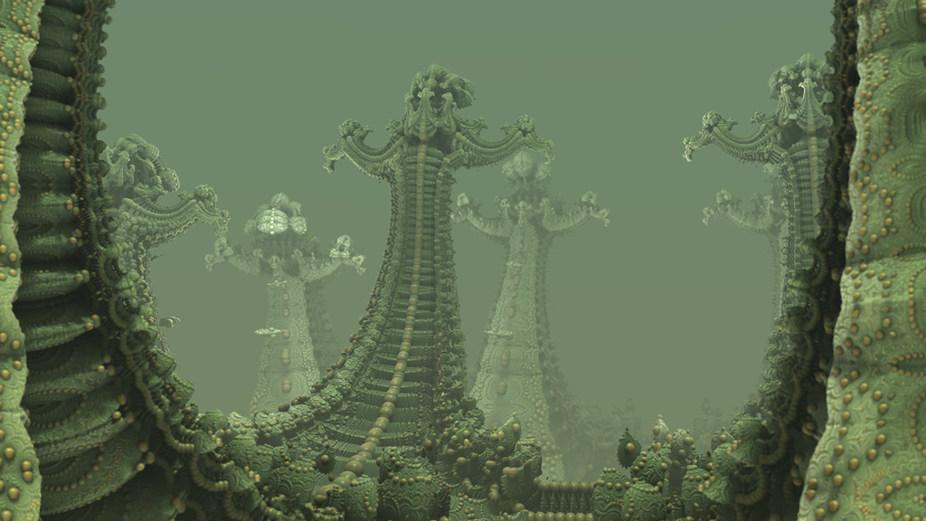 Monsters of Fractal VI: Spooky Kleinians by hypex2772 on DeviantArt
