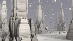 The City in the Snow Globe