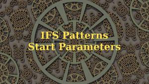 Start Parameters: IFS Patterns