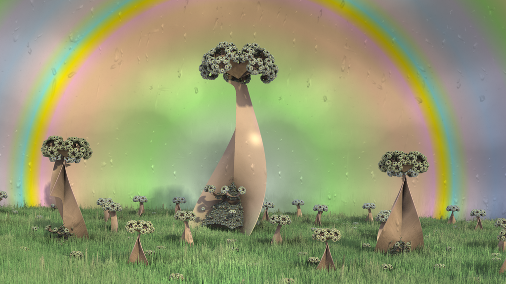 Technicolor Dreams V: The Rainbow Garden by hypex2772