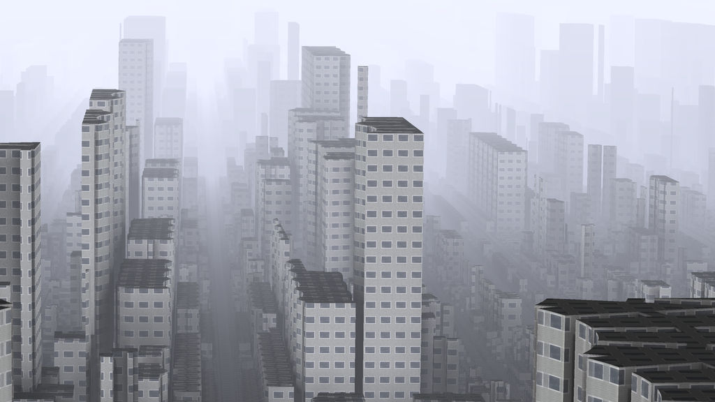 Monochrome City by hypex2772